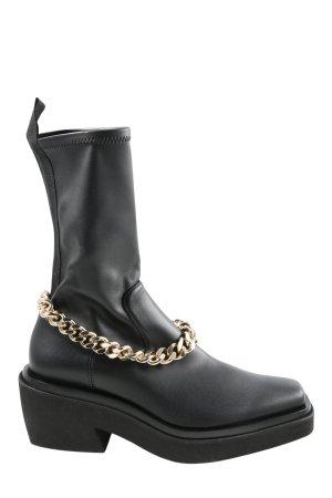 ILIO SMERALDO Booties schwarz extravaganter Stil