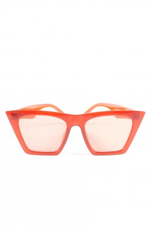 no name Brille hellorange Casual-Look