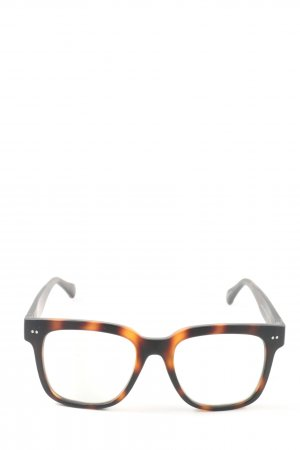 Look Optic Bril zwart-bruin casual uitstraling