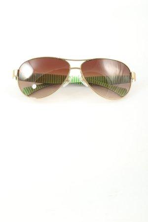 Okulary pilotki brązowy W stylu casual