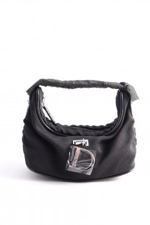 Bügeltasche schwarz Casual-Look