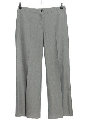 Doganer Pantalon à pinces gris clair Motif de tissage style d'affaires
