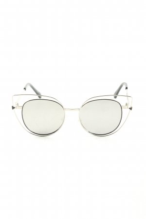 Butterfly Brille hellgrau Casual-Look