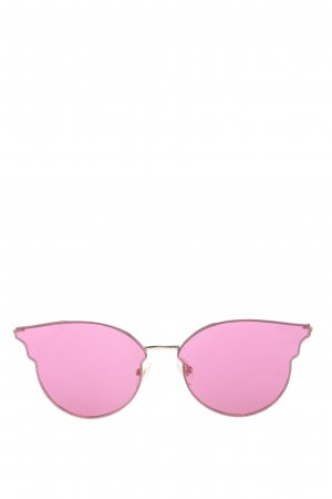 Sojos Lunettes papillon rose-doré style décontracté