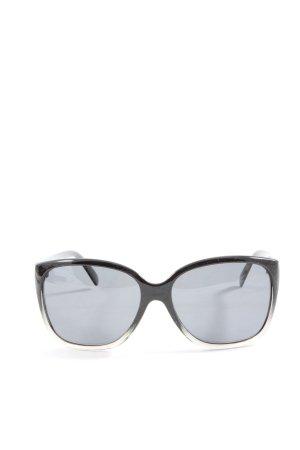 Lexxoo Okulary motylki czarny Gradient W stylu casual