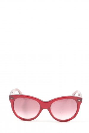 OLIVER GOLDSMITH Butterfly Brille rot Casual-Look