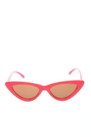 London Design Rayflector Lunettes papillon rouge style décontracté