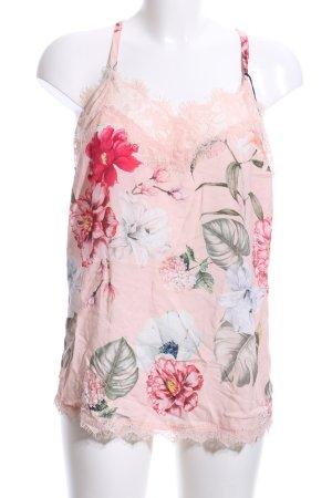 Camisola estampado floral look casual
