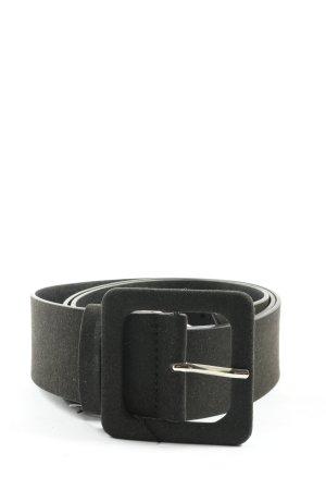 Pasek materiałowy czarny W stylu casual
