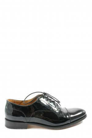 magnanni Zapatos Oxford con puntera negro elegante