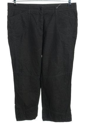 Spodnie Capri czarny W stylu casual