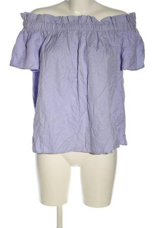 Carmen blouse blauw casual uitstraling