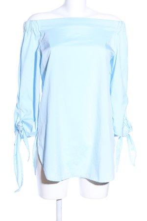 Carmen Blouse blue casual look