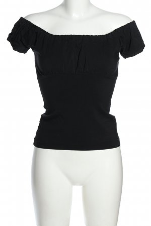 Dovima Paris Koszula typu carmen czarny W stylu casual