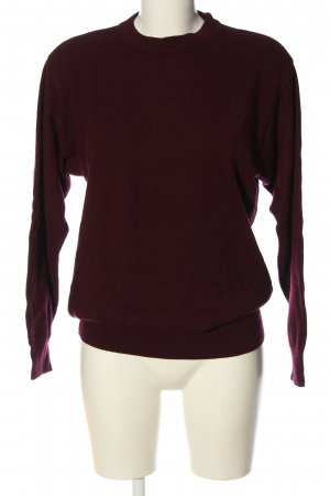 Ghirardelli Cashmere Jumper red casual look
