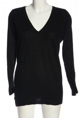 Pashmere Cashmere Jumper black casual look