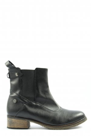 Chelsea laarzen zwart casual uitstraling