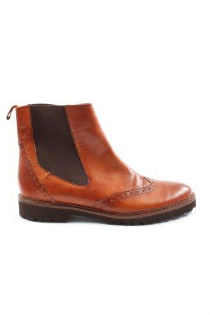 karma morokoi Chelsea laarzen licht Oranje-bruin casual uitstraling