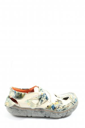 Klompsandalen abstract patroon casual uitstraling
