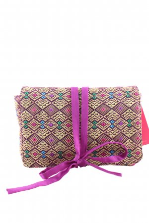 Clutch grafisches Muster Casual-Look