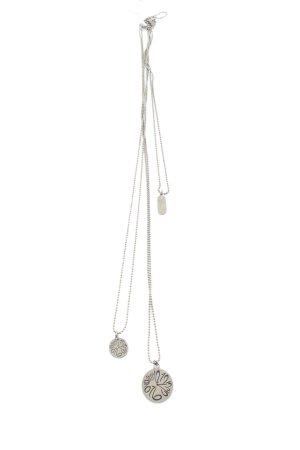 Collar estilo collier color plata estilo fiesta