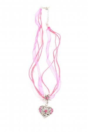 Tillberg Collier Necklace pink-silver-colored elegant