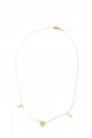 Collier goldfarben Casual-Look