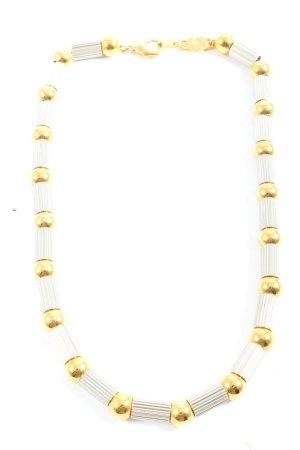 Collier silberfarben-goldfarben Casual-Look