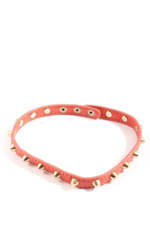 sheng tong Collier pink extravaganter Stil