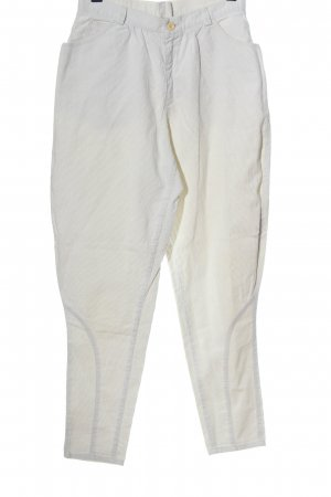 Corduroy Trousers white casual look