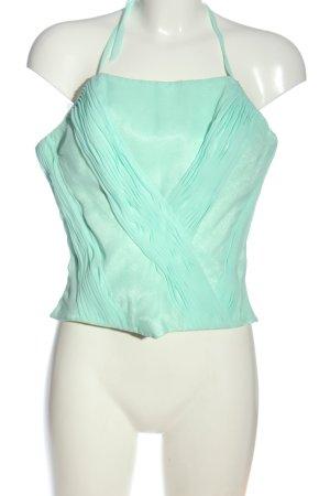moli colection Corsage Top turquoise elegant