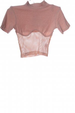 Cropped Shirt pink casual look