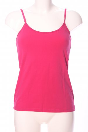 Basic Top pink Casual-Look