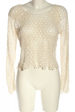 deb Cropped Top creme Casual-Look