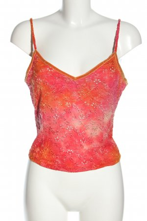 Voyage Passion Cropped Top pink-hellorange Farbverlauf Casual-Look