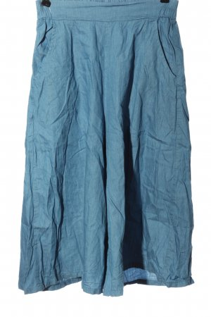 GEBEISHANG Culotte bleu style décontracté