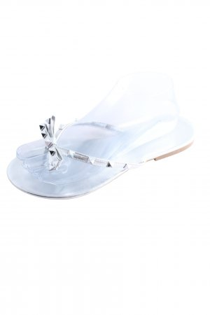 Dianette Sandals silver-colored casual look