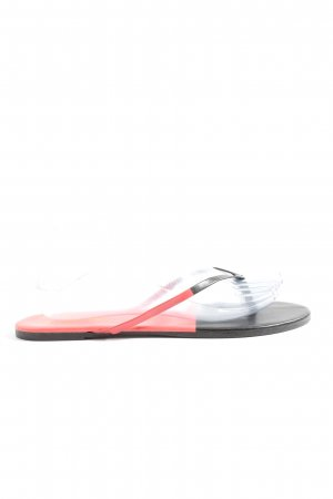 Dianette Sandals black-pink casual look
