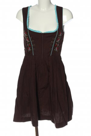 Dirndl brown classic style
