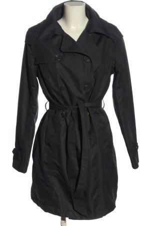 Duffle-coat noir style décontracté