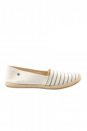Balada Espadrille Sandals white-black striped pattern casual look