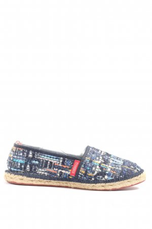 l'espadrille tropezienne Espadrille sandalen abstract patroon