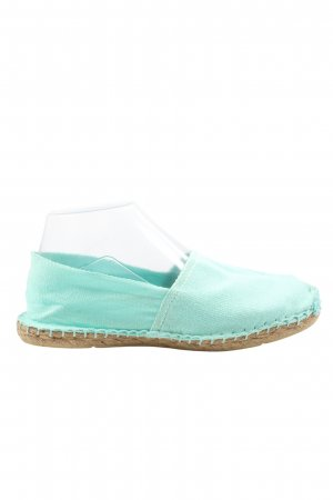 Espadrille Sandals turquoise casual look