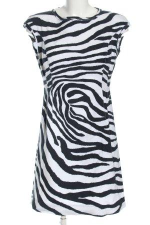 Bianca Sheath Dress black-white allover print casual look