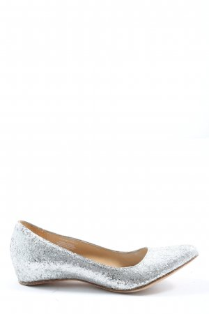 Maison Martin Margiela for H&M Foldable Ballet Flats silver-colored casual look