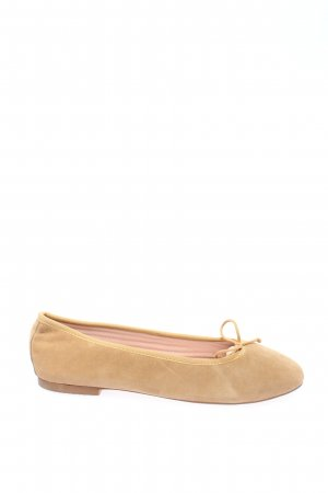 Foldable Ballet Flats nude business style