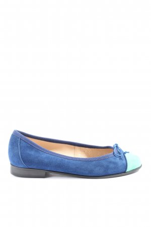 Tony G Bailarinas plegables azul-turquesa look casual