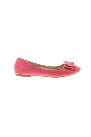 Hai Li Bailarinas plegables rosa look casual