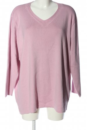 by Jagro Feinstrickpullover pink Casual-Look