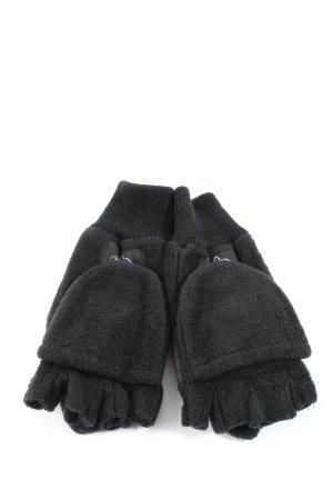 Vingerandschoenen zwart casual uitstraling